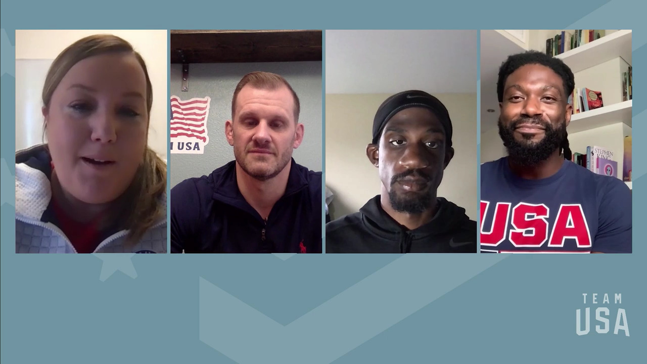 Lex Gillette, Matt Scott, Justin Widhalm | Tokyo 2020 Team USA Virtual Media Summit