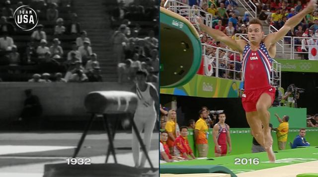 Then & Now: Vault