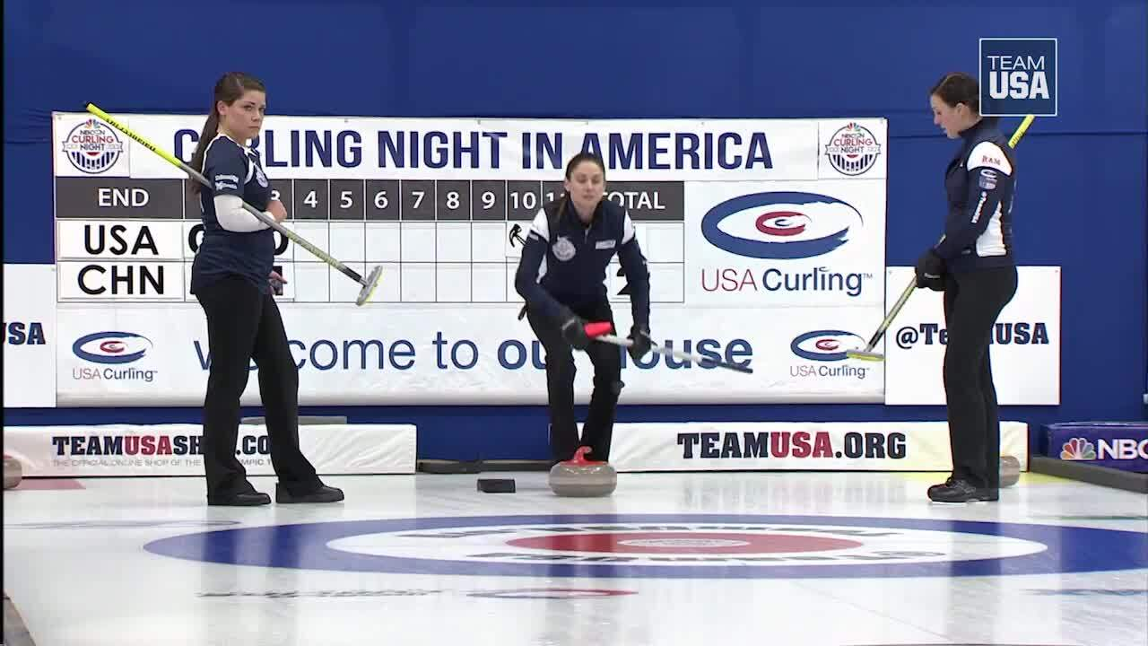 Team USA Bests China On Curling Night In America