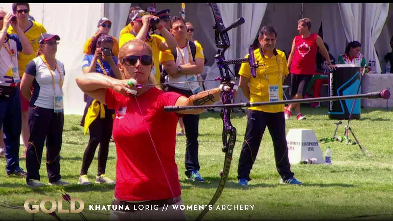 Khatuna Lorig Shoots For Gold