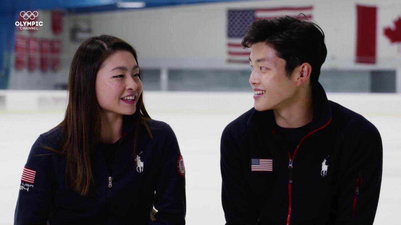 Olympic Channel: Gold Medal Entourage: Partners In Crime: Olympic Ice Dancers, Siblings, YouTubers FT @SHIBSIBS