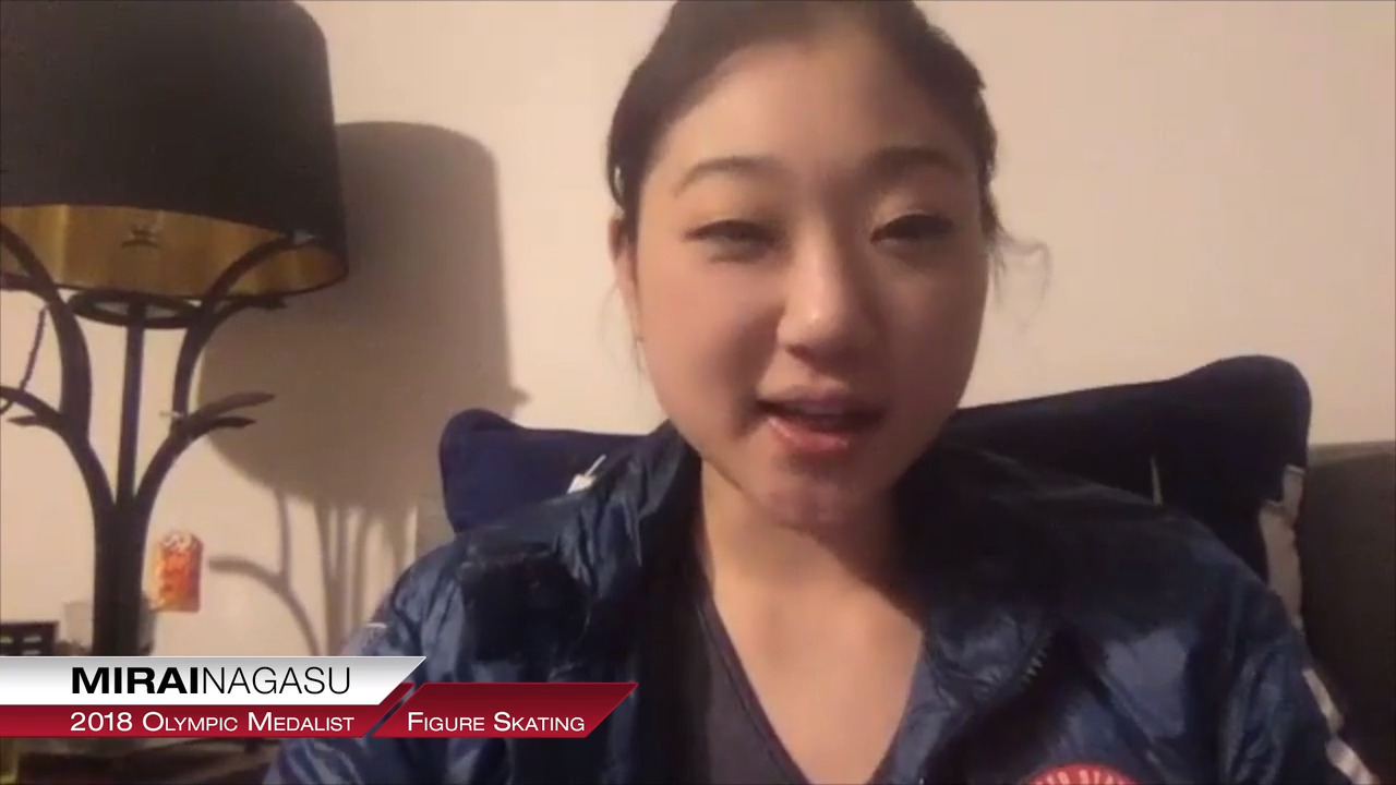Mirai Nagasu On Partnering With The Power Of 10 Nonprofit