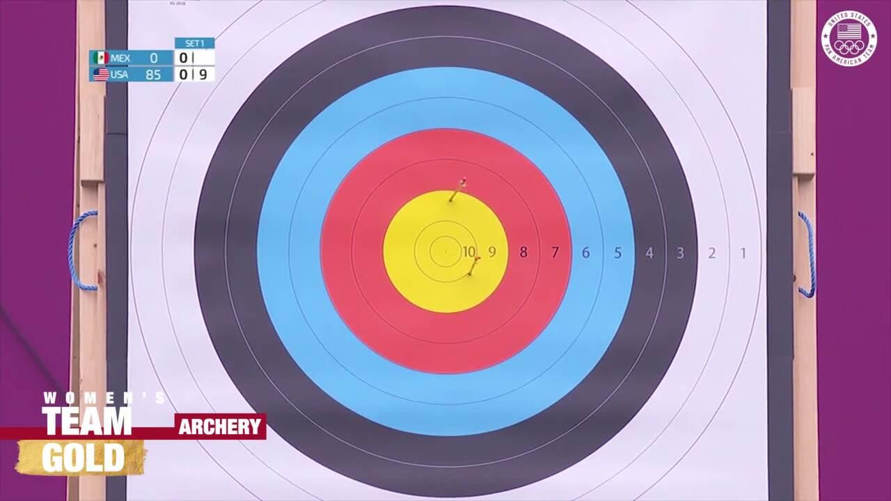 USA Women's Archery Team Gold | Pan American Games Lima 2019