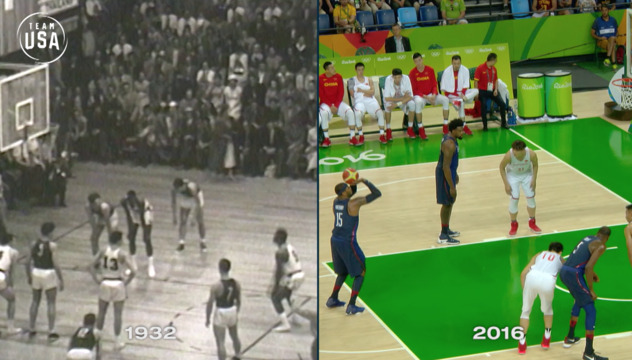 Then & Now: Basketball