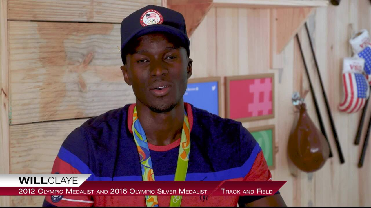 Will Claye Discusses Motivation, Mentors and Medals