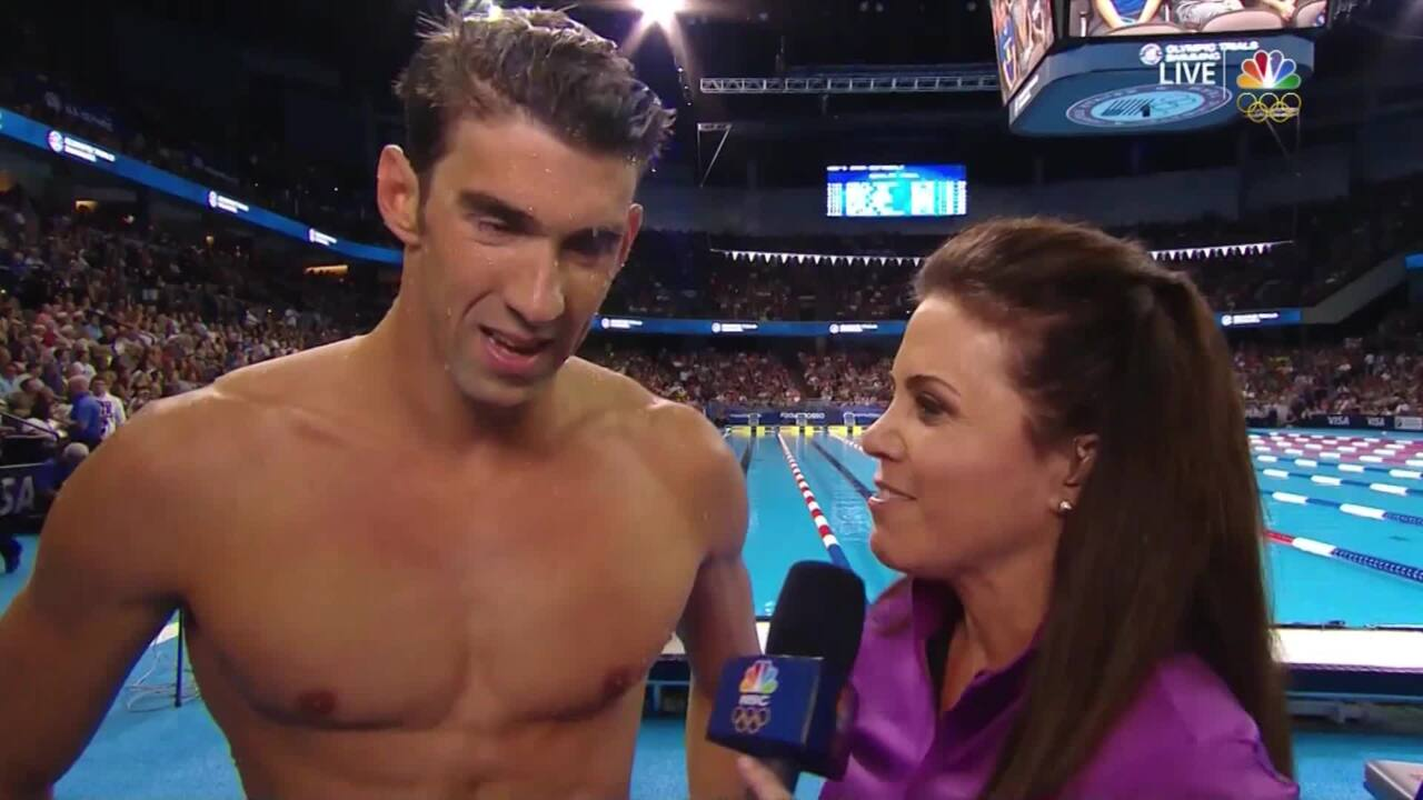 Olympic Swimming Trials | Phelps Looking To Be 'A Little Bit Faster'