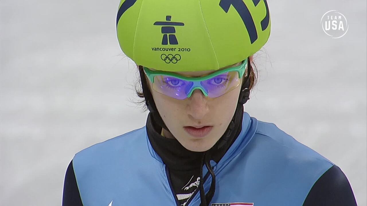 Team USA Olympic Anniversary | Katherine Reutter Vancouver 2010