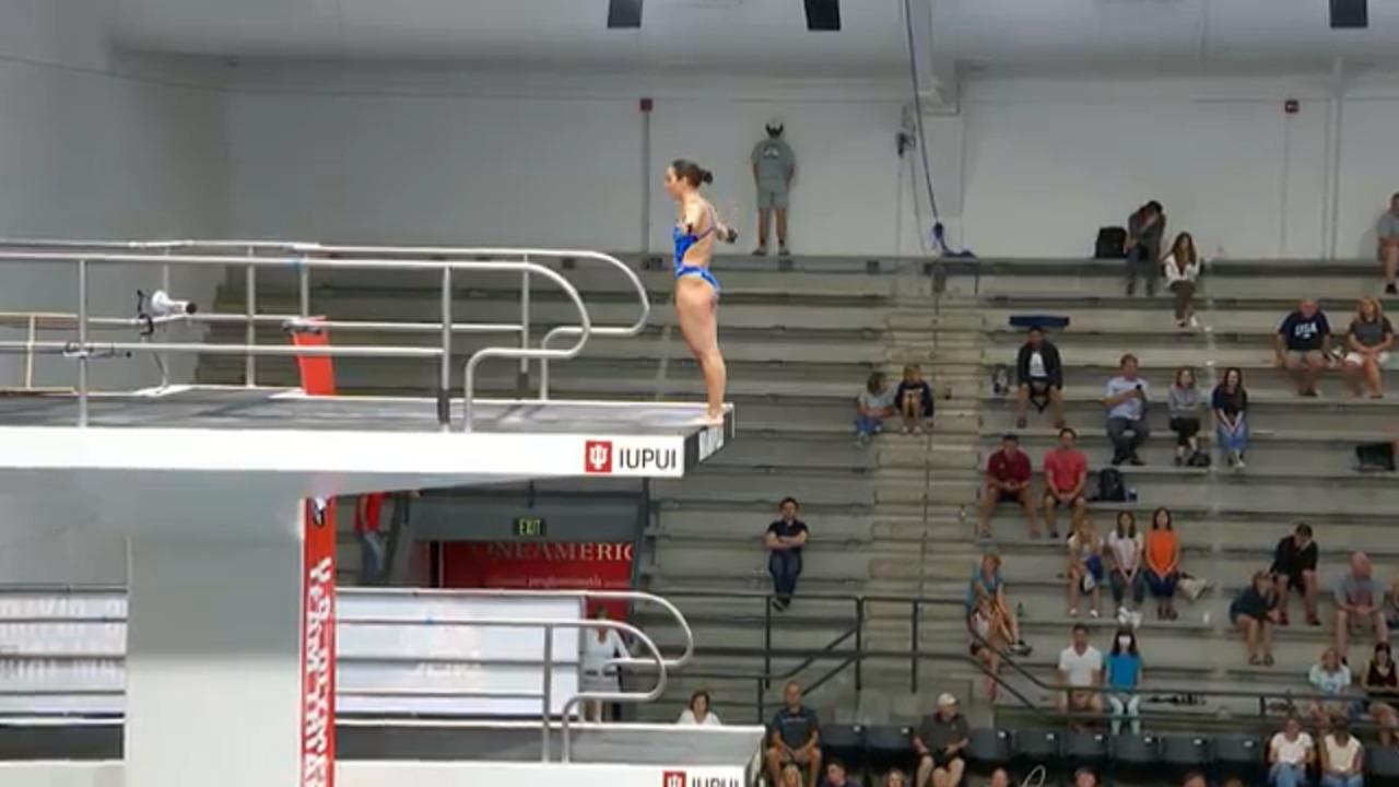 Murphy Bromberg Dive #5 - 10-Meter Platform Semifinals | Diving U.S. Olympic Team Trials 2021