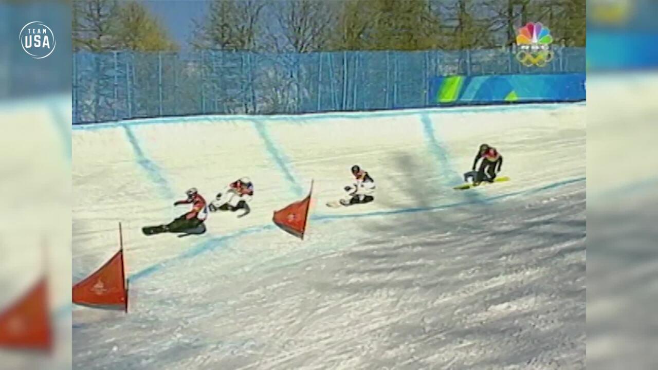 Team USA Olympic Anniversary | Seth Wescott Torino 2006