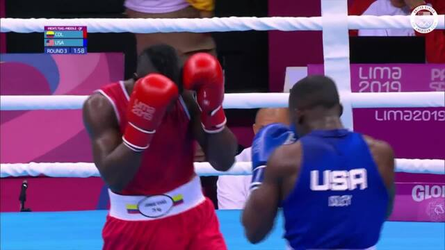 Troy Isley Wins His 75KG Match   Pan American Games Lima 2019