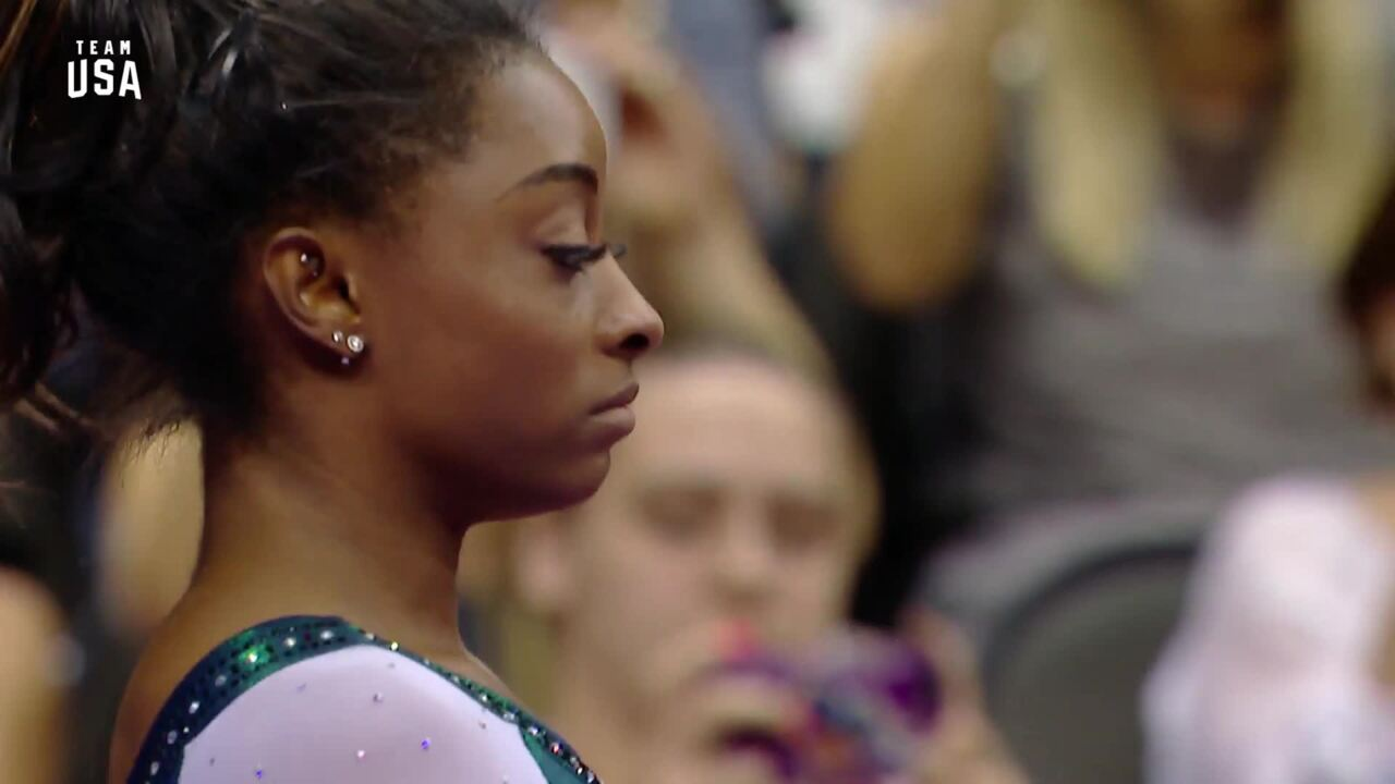 Simone Biles Uneven Bars | Champions Series Presented By Xfinity