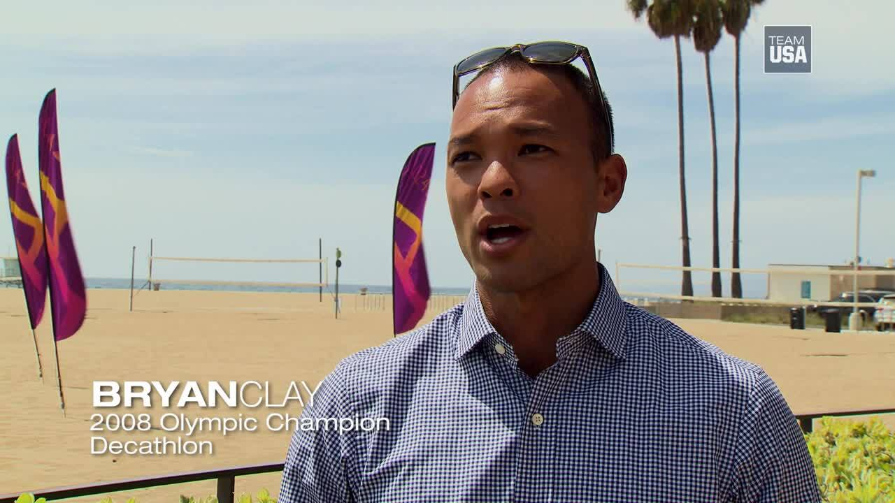 What A #LA2024 Bid Means To Bryan Clay