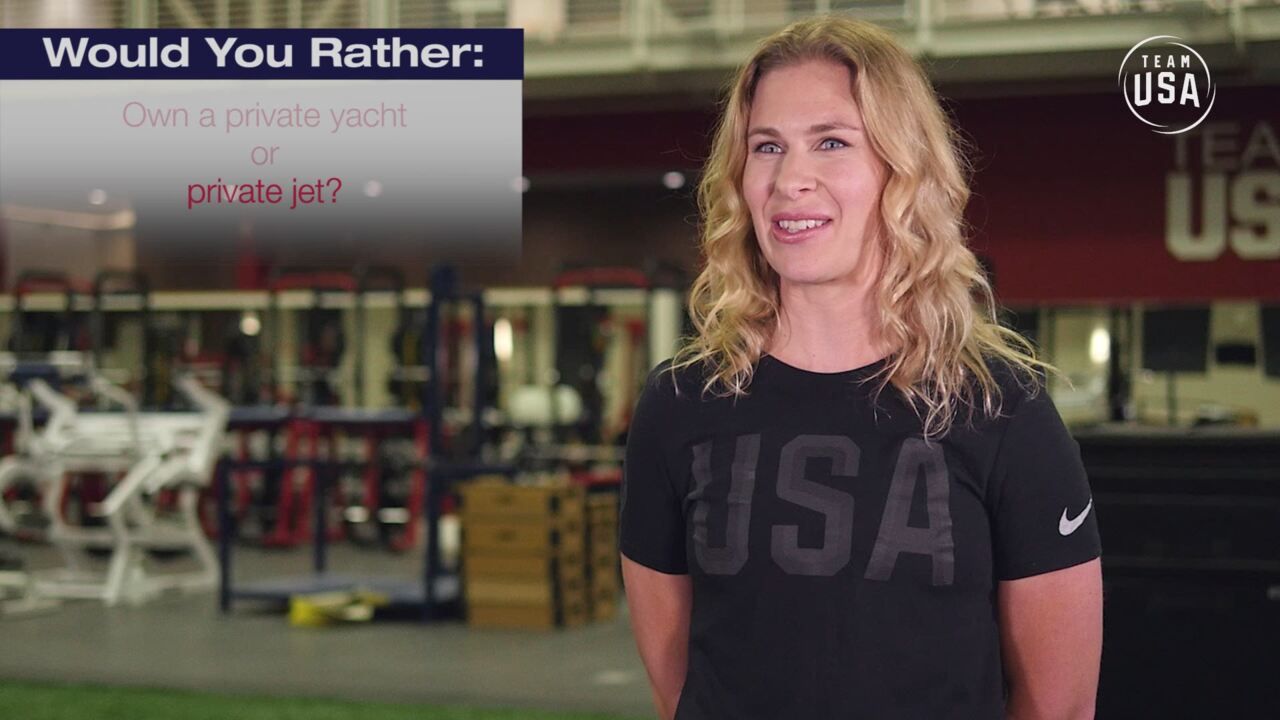 Would You Rather | Sarah Hammer: Track Cycling