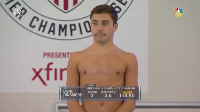 Watch David Dinsmore's Gold Medal-Winning Dives From Nationals