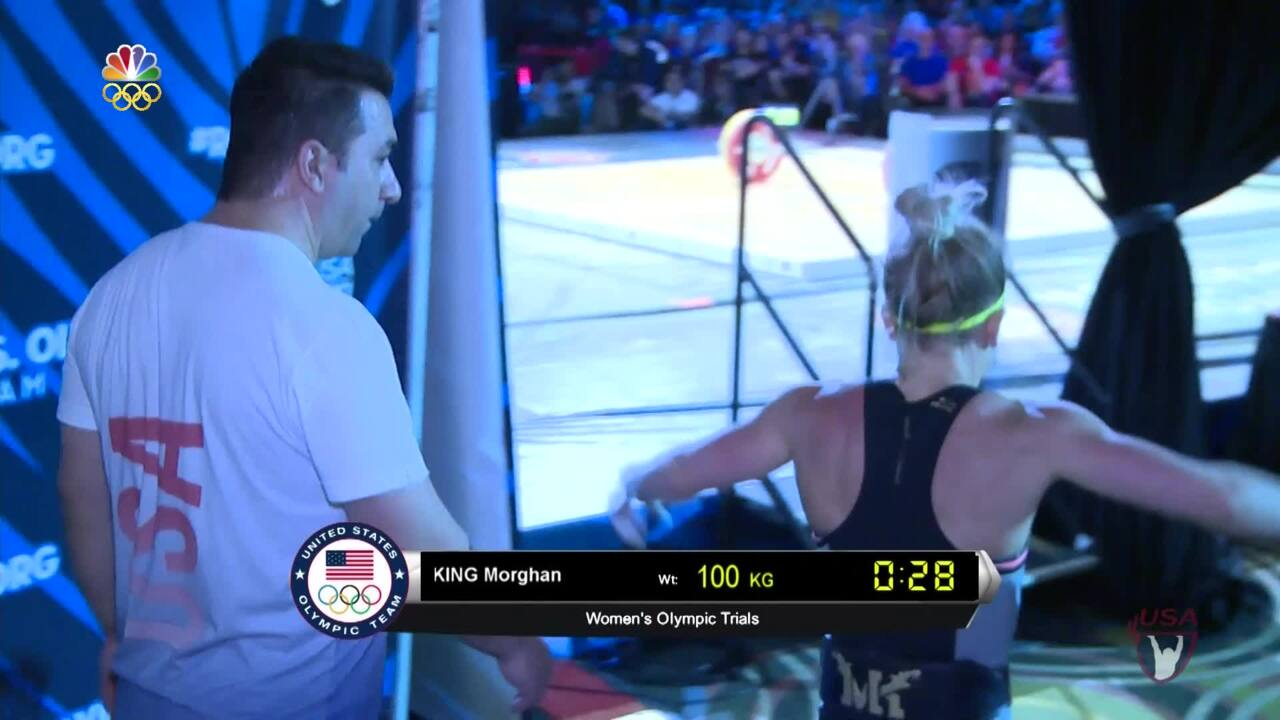 Morghan King Tops The Women's Rankings At Olympic Team Trials