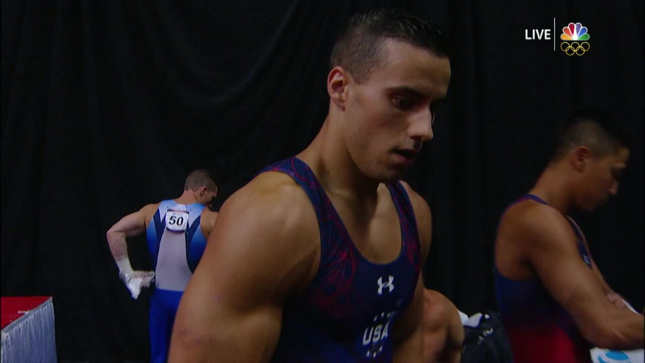 Men's Gymnastics Olympic Trials   Why Gymnasts Swear By Cupping Therapy