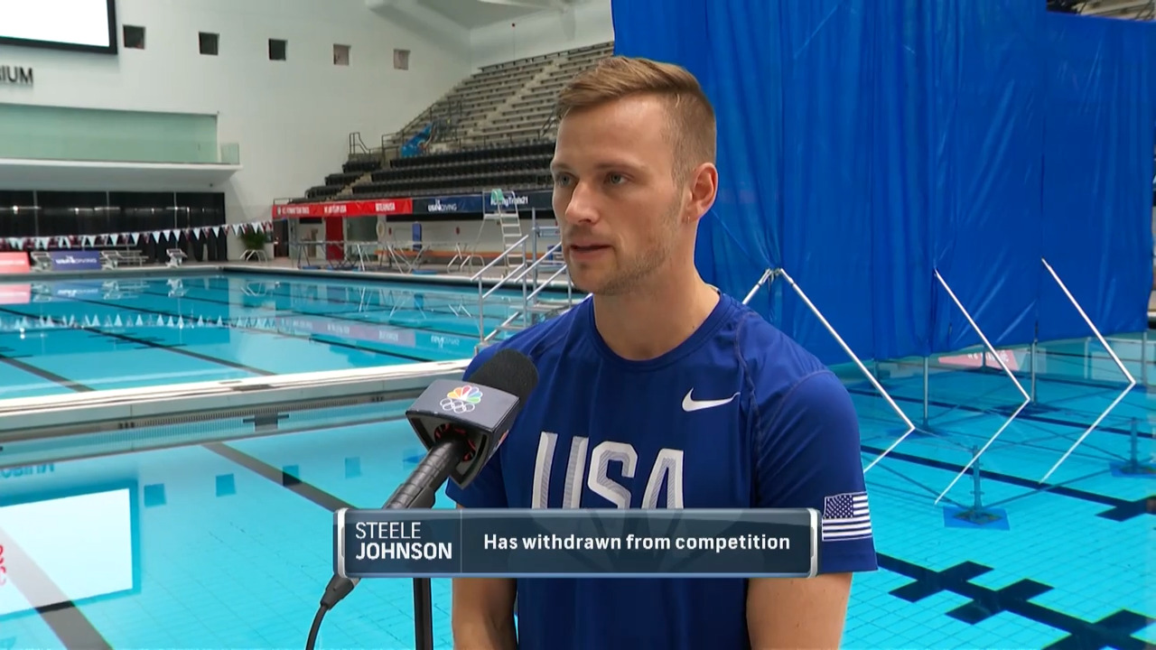 Steele Johnson Interview | Diving U.S. Olympic Team Trials 2021