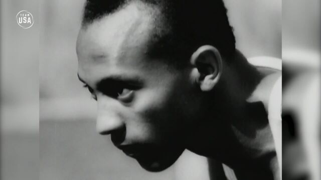 Jesse Owens Makes History At The 1936 Olympic Games | Gold Medal Moments Presented By HERSHEY'S