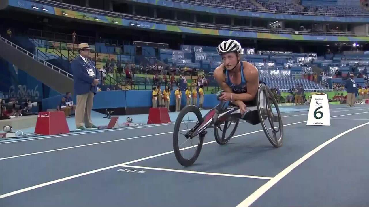 BMW Performance Of The Day | Tatyana McFadden Women's T54 400m Final- Track and Field