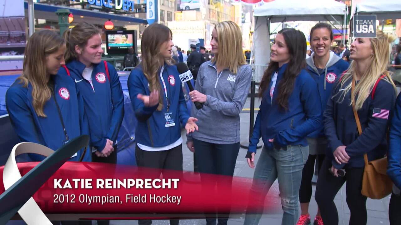 Team USA Takes Over Times Square | Team USA's Road To Rio