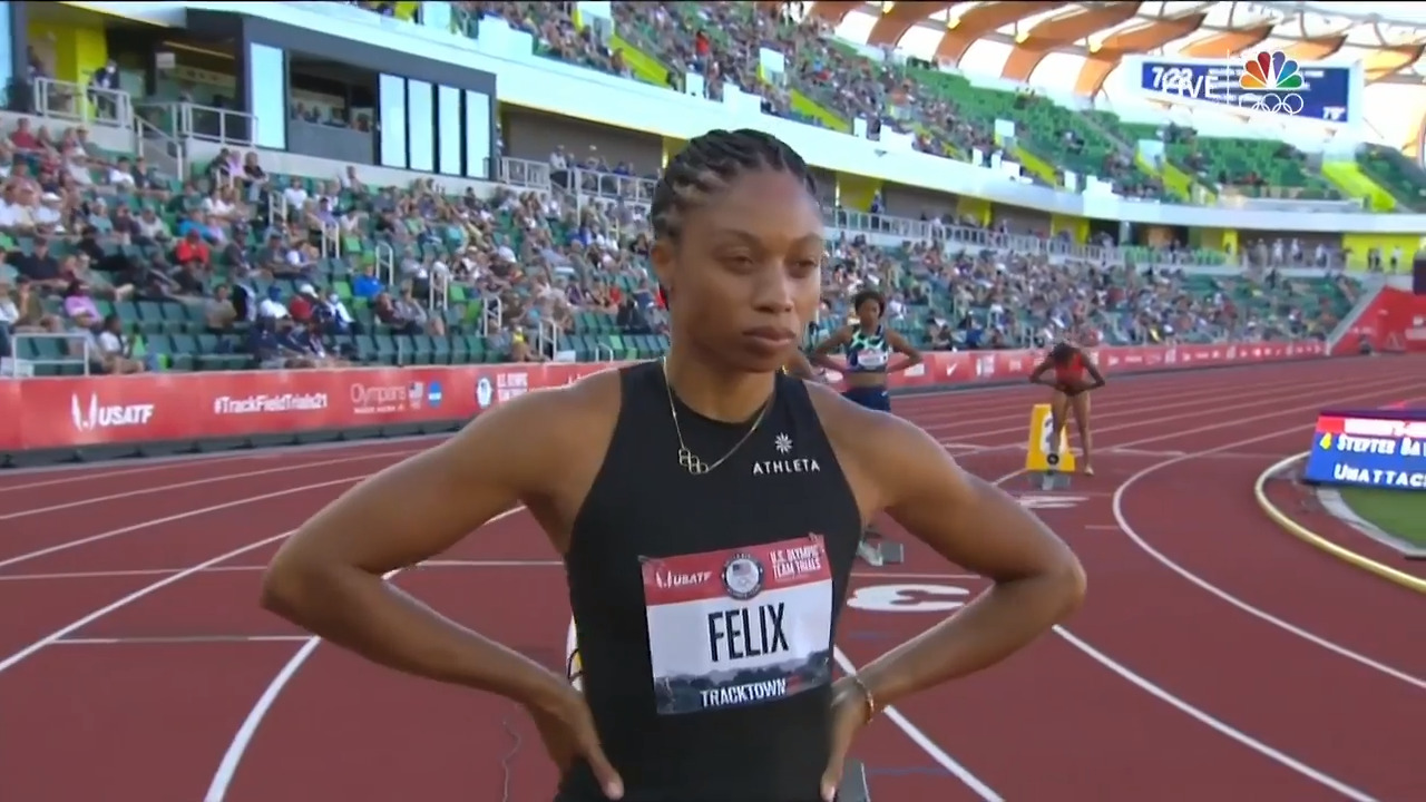 Women's 400-Meter Semifinal | Track & Field U.S. Olympic Team Trials