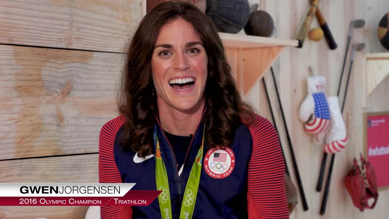 Gwen Jorgensen On Winning Team USA's First Triathlon Gold