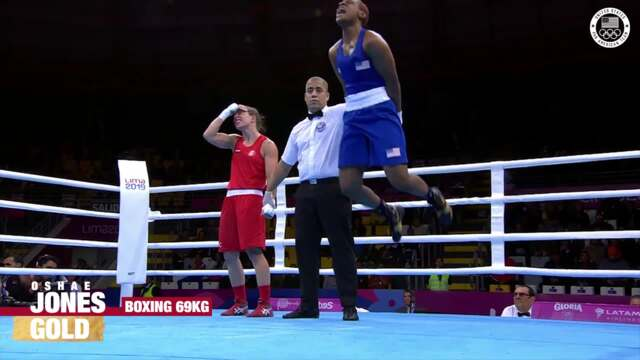 Oshae Jones Golden In Women's Boxing | Pan American Games Lima 2019