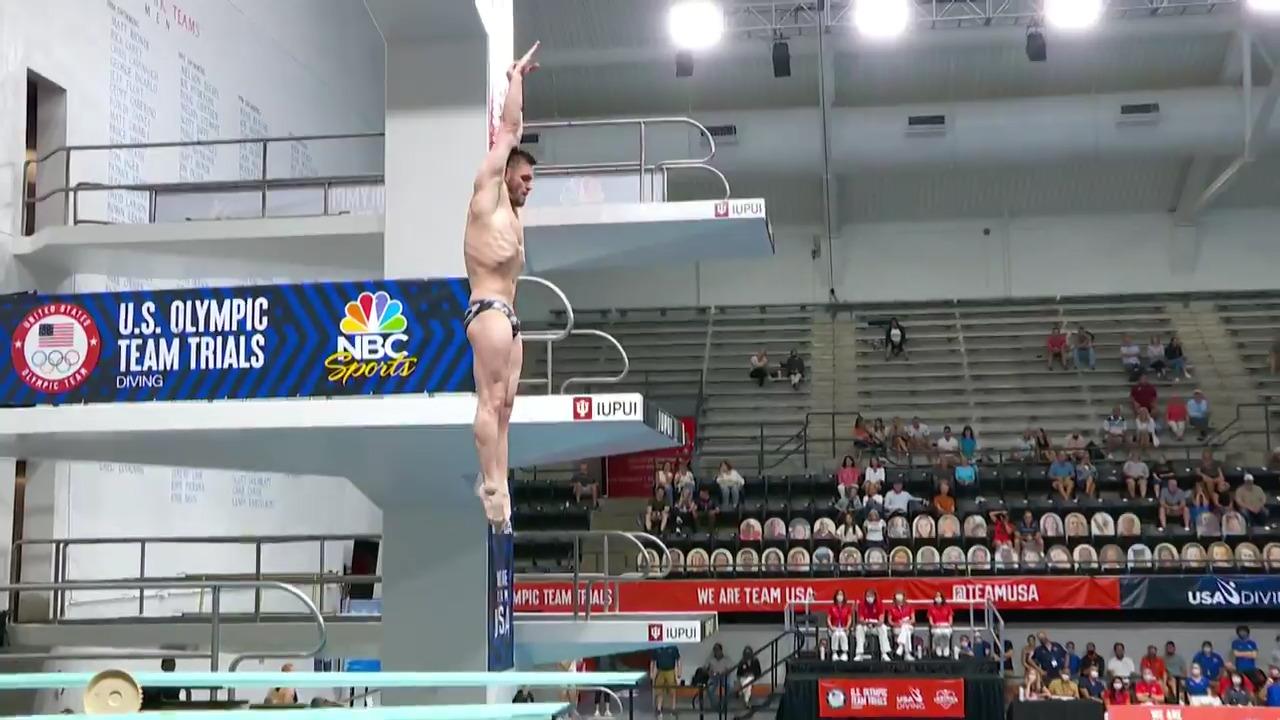 David Boudia Dive #6 - 3-Meter Springboard Semifinals | Diving U.S. Olympic Team Trials 2021