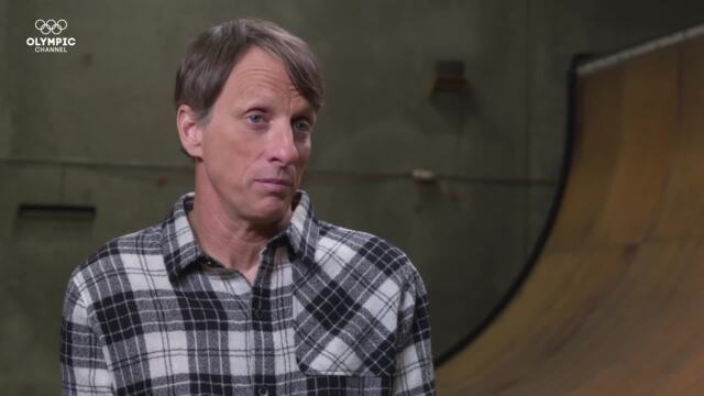 Olympic Channel: Tony Hawk - My Olympic Moment