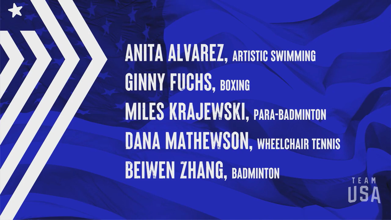 Anita Alvarez, Ginny Fuchs, Miles Krajewski, Dana Mathewson, Beiwan Zhang | Tokyo 2020 Team USA Virtual Media Summit