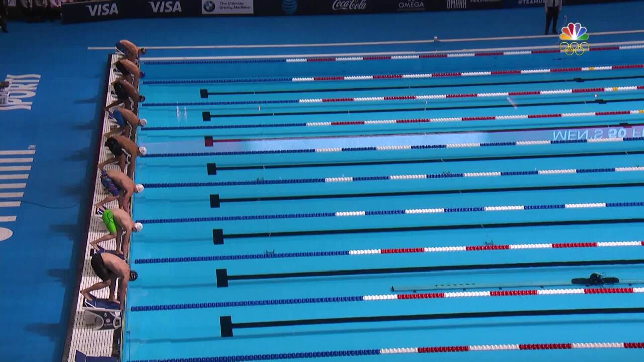 Olympic Swimming Trials   Adrian, Ervin Take 50m Free Spots In Rio