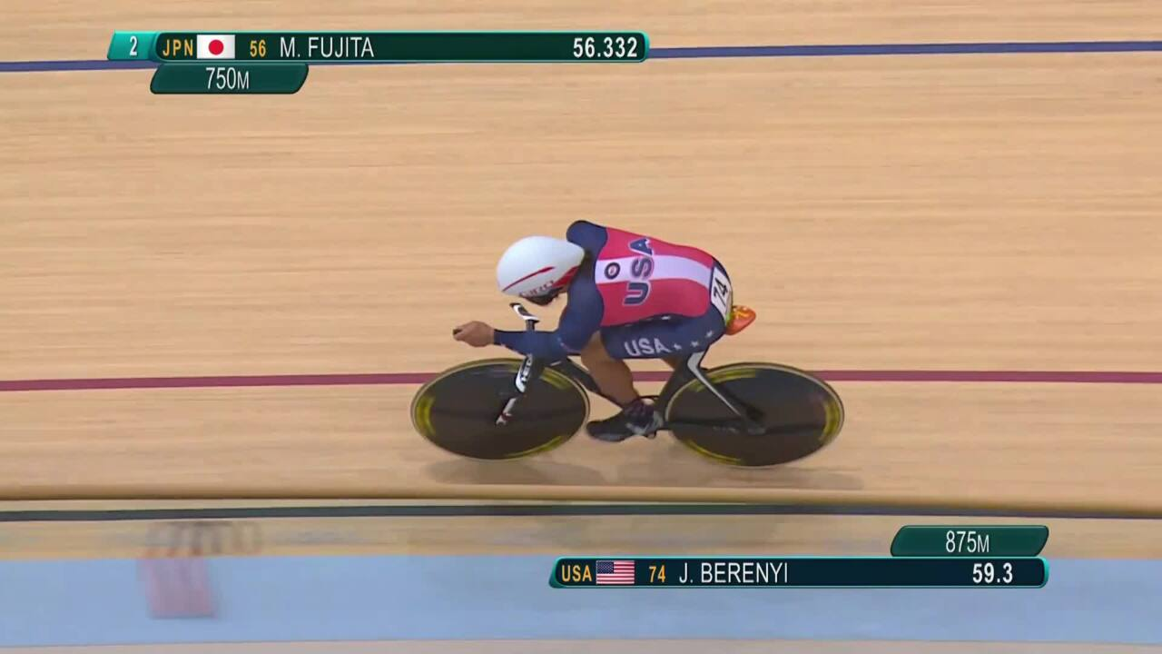 Joseph Berenyi | Men's C3 3000m Individual Pursuit Qualifying | Track Cycling | 2016 Paralympic Game