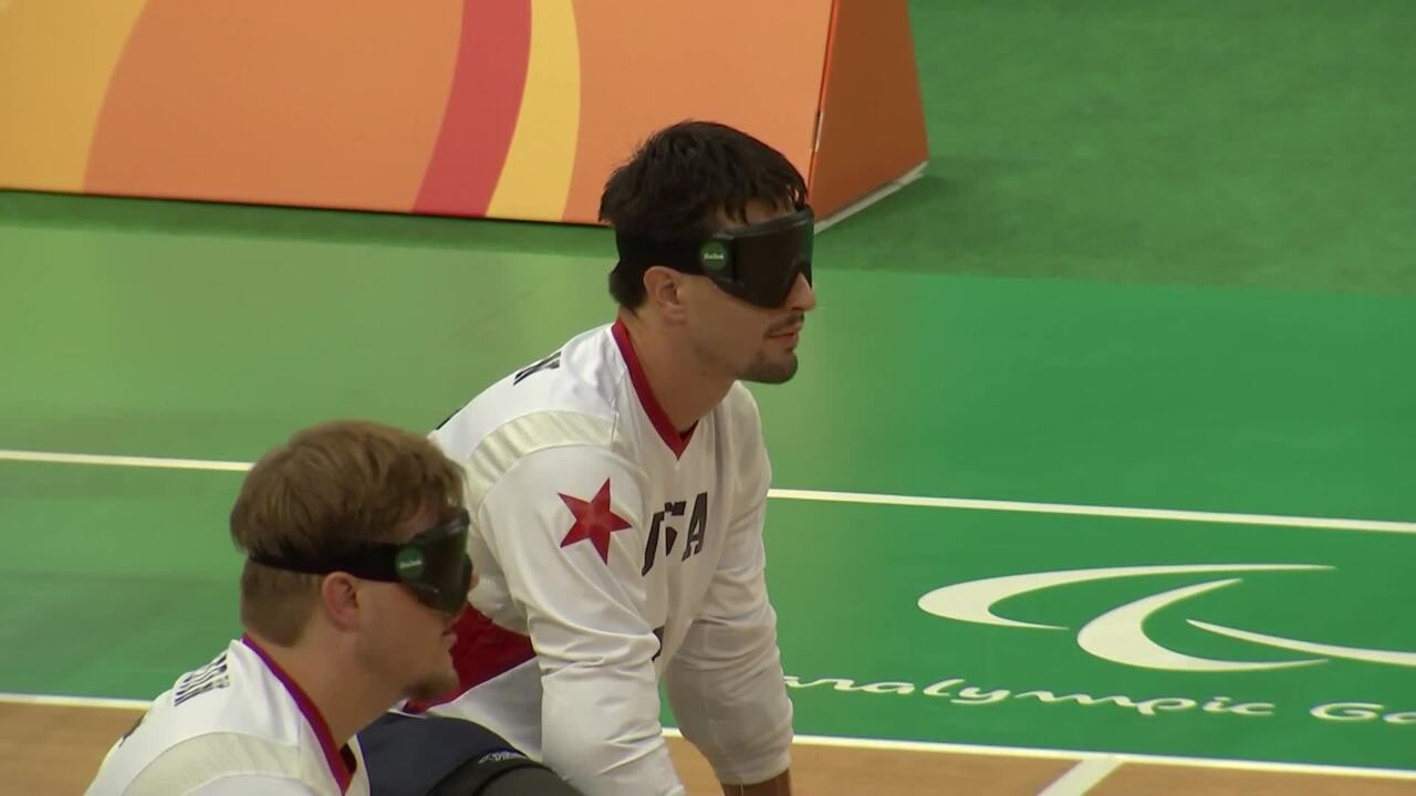 Men's Goalball Highlight | USA vs Lithuania | 2016 Paralympic Games