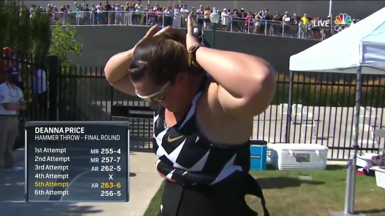 DeAnna Price Women's Hammer Throw Final | Track & Field U.S. Olympic Team Trials 2021