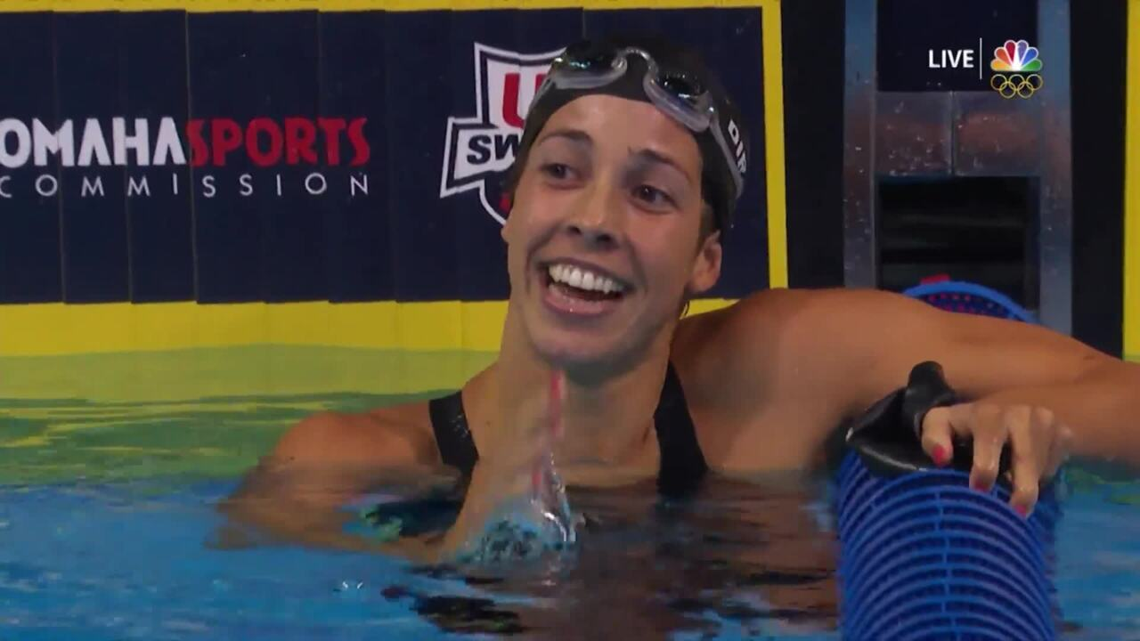 Olympic Swimming Trials | Maya Dirado Wins 200IM, Headed To Rio