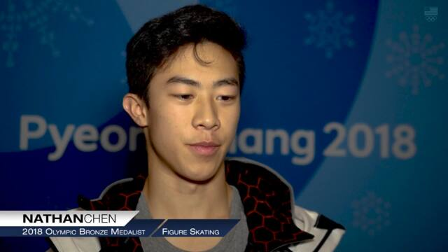 Nathan Chen Looking Forward To Redemption | Team USA In PyeongChang