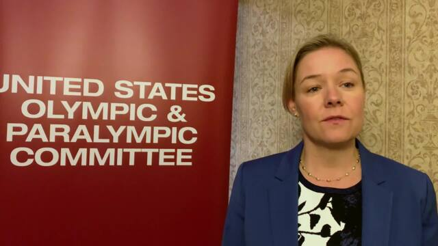 Sarah Hirshland Explains The USOPC Name Change
