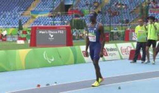 Lex Gillette | Men's Long Jump T11 | Silver Medal | 2016 Paralympic Games