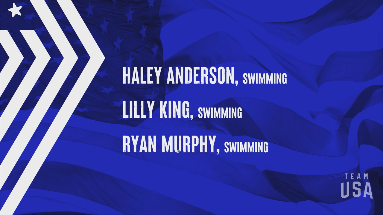 Haley Anderson, Lilly King, Ryan Murphy | Tokyo 2020 Team USA Virtual Media Summit