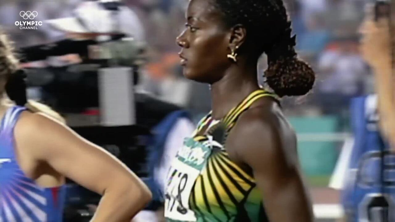 Olympic Channel: On The Record: Devers Pips Ottey In Dramatic Atlanta Photo Finish