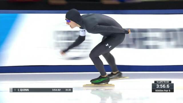 Olympic Long Track Speedskating Trials | Quinn And Stelly Compete In The Men's 5,000-Meter