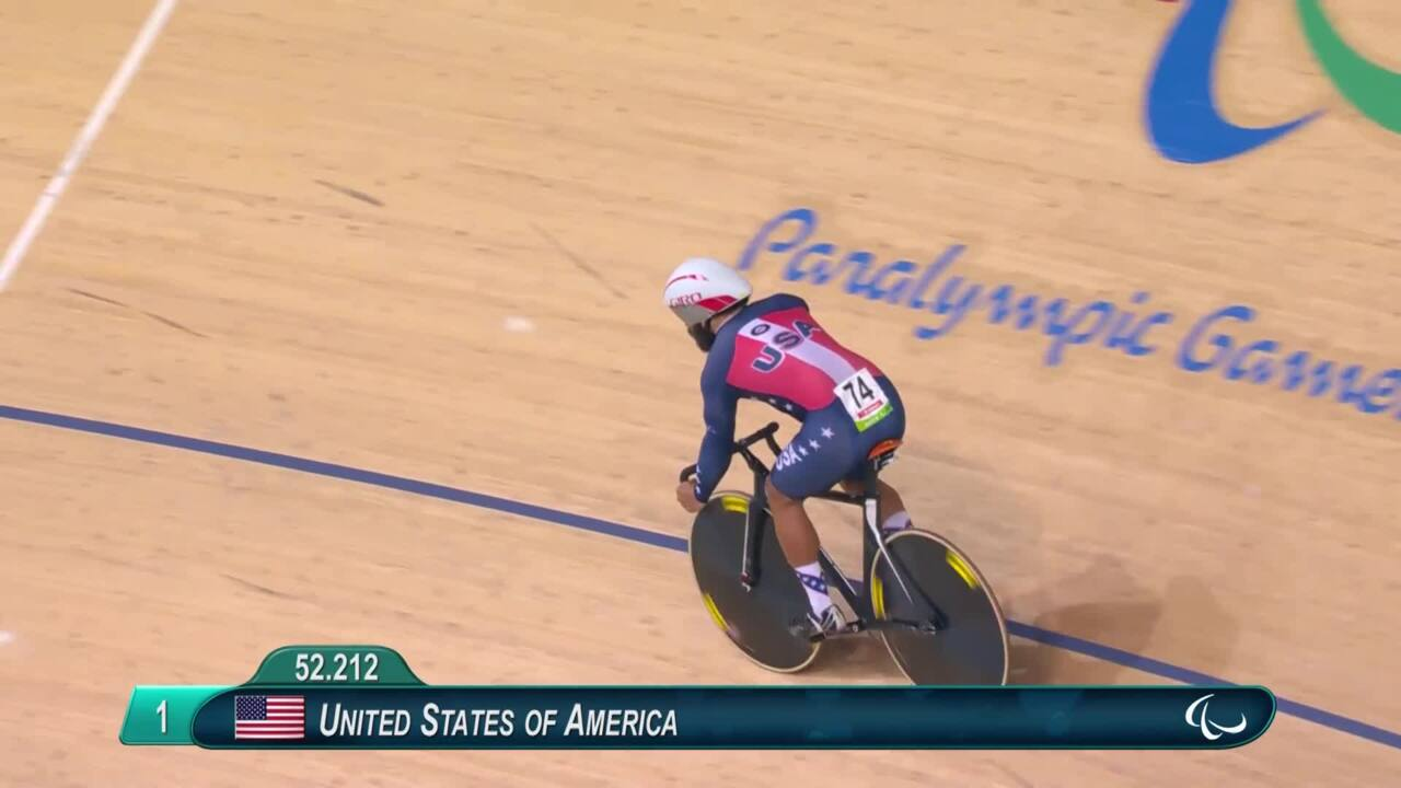 Track Cycling | Mixed C1-5 750m Team Sprint Qualifying | 2016 Paralympic Games
