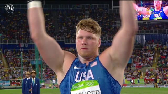 Ryan Crouser Set Olympic Shot Put Record