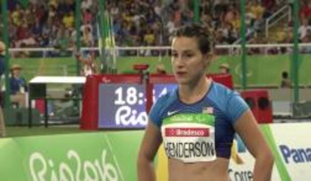 Lacey Henderson | Women's Long Jump T42 Final | Track and Field | 2016 Paralympics