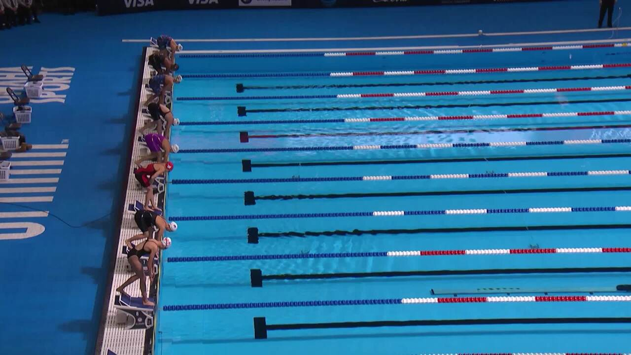 Olympic Swimming Trials | Abbey Weitzeil Wins 50m Free Semifinal