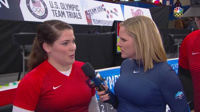 Olympic Mixed Doubles Curling Trials | Becca And Matt Hamilton Discuss Their Semifinal Victory