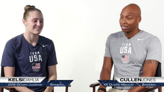 Team USA Insider | Q&A With Cullen Jones & Kelsi Dahlia