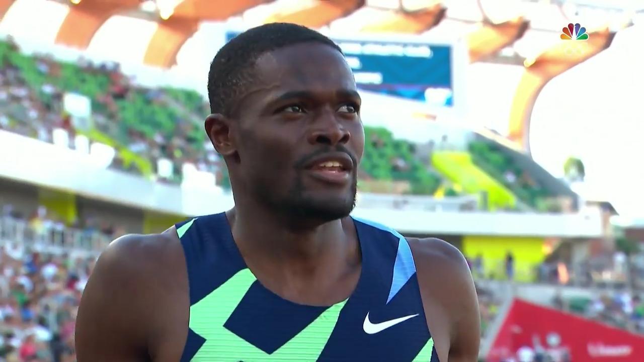 Men's 400 Hurdles Post-Race Interview | Track & Field U.S. Olympic Team Trials