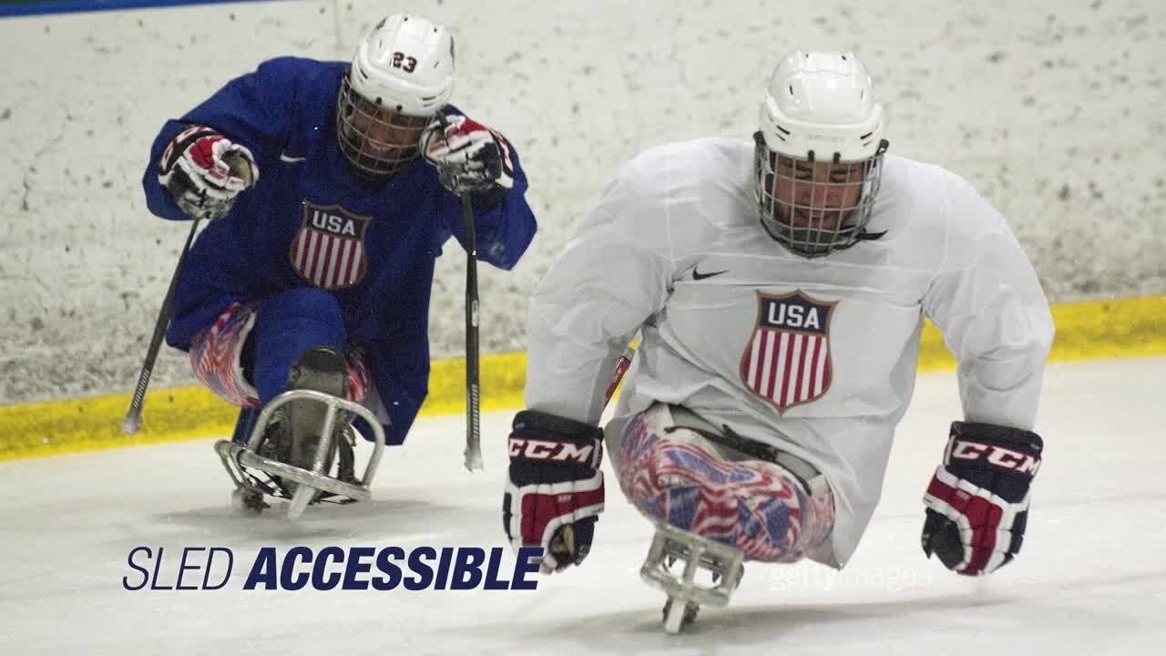 Paralympic Sports Revealed With The Shib Sibs: Sled Hockey