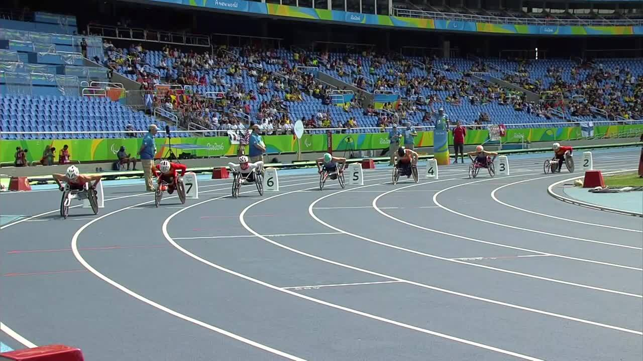 Amanda McGrory |Women's 800M-T54 Heat 2 | 2016 Paralympic Games